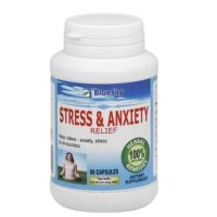 Blue Sky Herbal Bsh Stress & Anxiety (1x60CAP )
