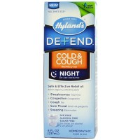 Hyland's Homeopathic Hyland Defnd Cold Cough Night Time (1x8 Oz)