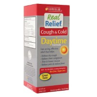 Real Relief Cough/Cold Syrup, Daytime Formula (1x8.5 OZ)
