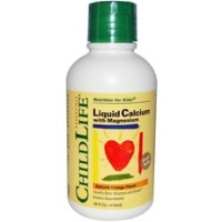 Childlife Liquid Calcium With Magnesium, Orange (1x16Oz)